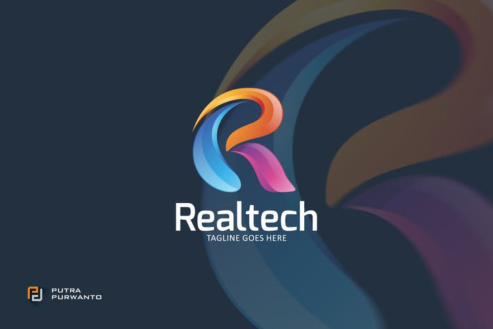 Thumbnail for Realtech - Logo Template