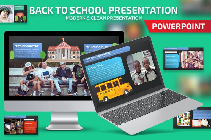 Thumbnail for Back to school Powerpoint Presentation