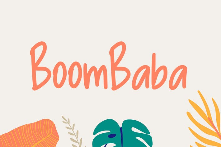 Thumbnail for Boombaba Font