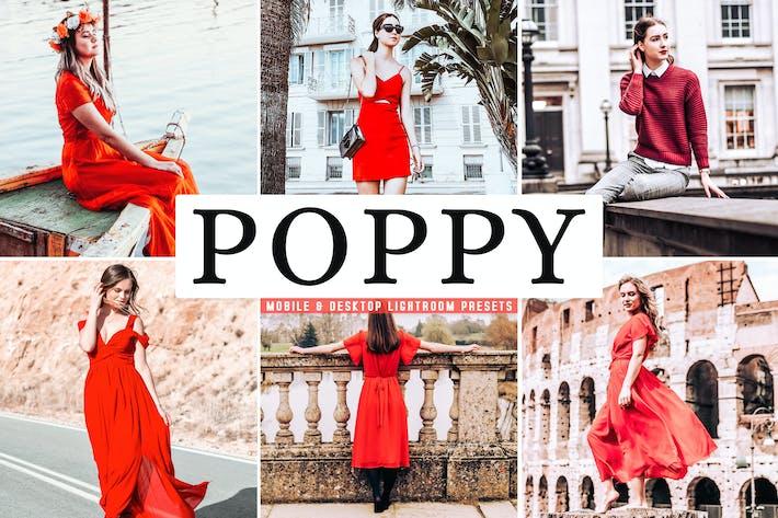 Thumbnail for Poppy Mobile & Desktop Lightroom Presets