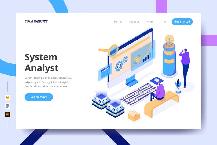 Thumbnail for System Analyst - Landing Page
