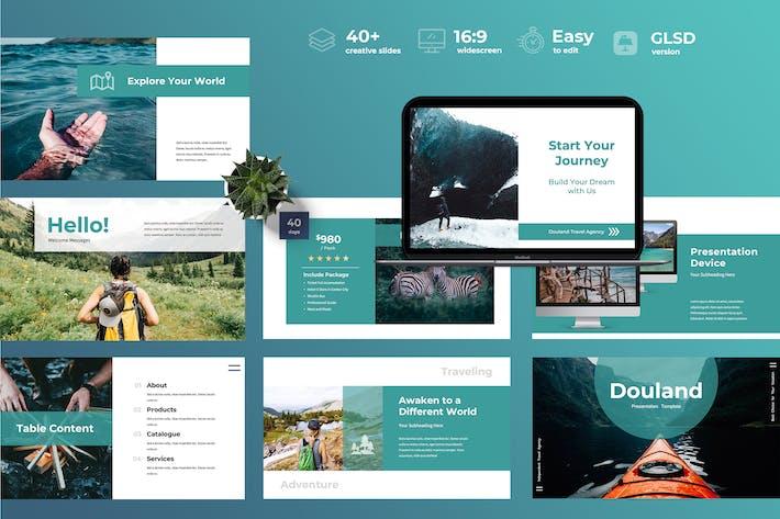 Thumbnail for Douland - Travel Googleslides Presentation