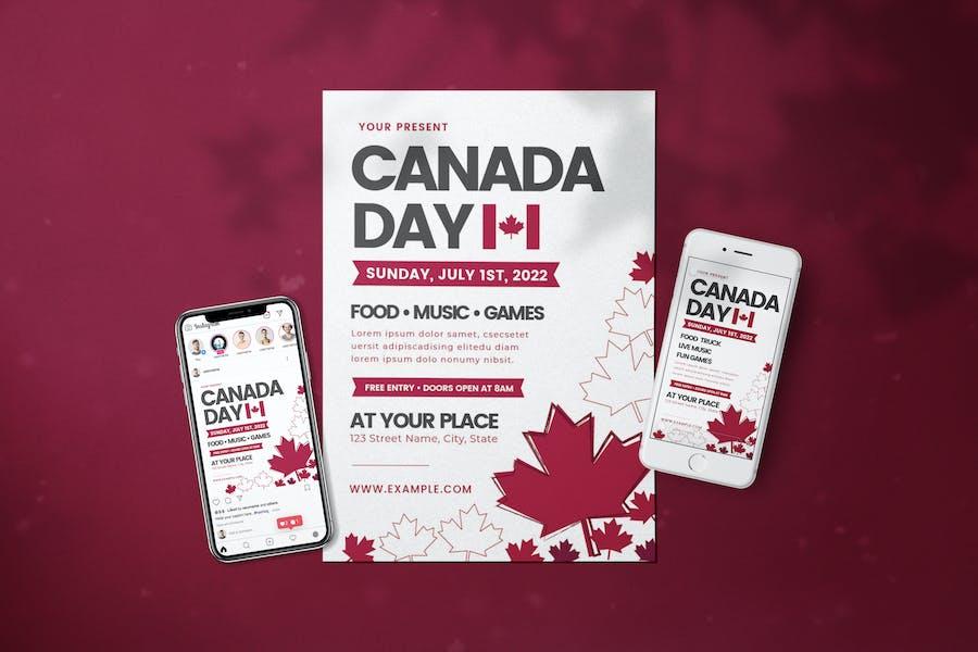 Canada Day - Flyer Media Kit