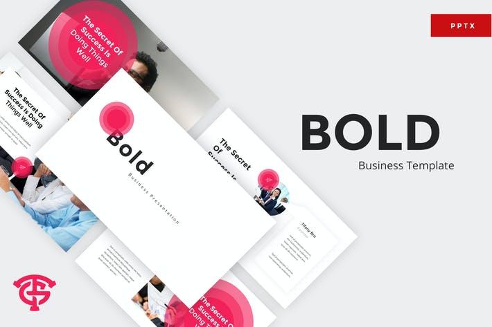 Thumbnail for Bold Business - Powerpoint