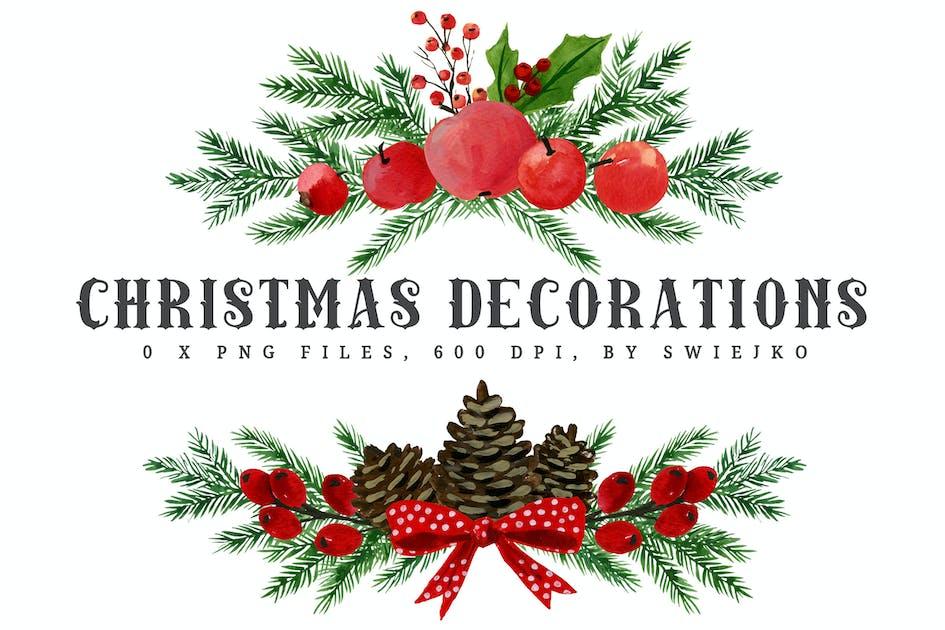 Christmas decorations I von swiejko auf Envato Elements