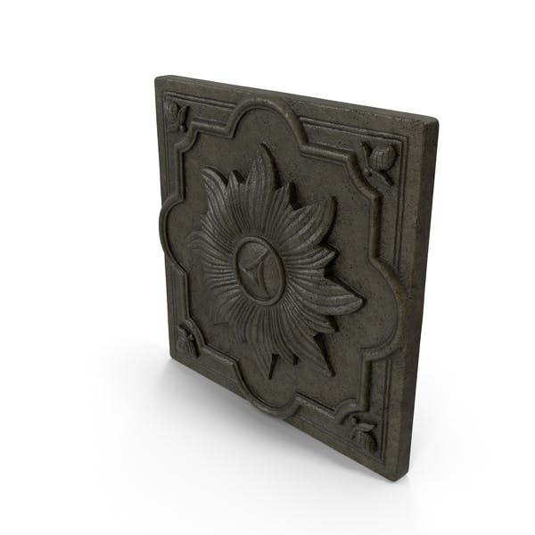 Flower Tile Wall Decor