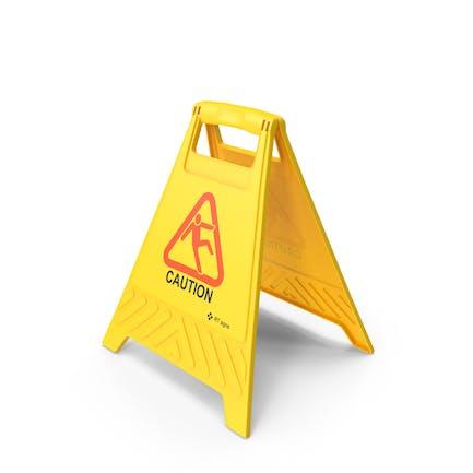 Caution Floor Sign
