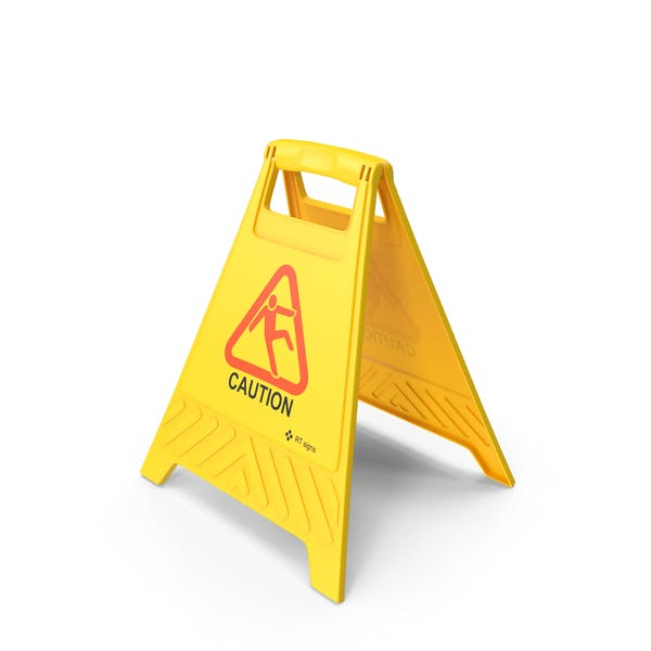 Thumbnail for Caution Floor Sign