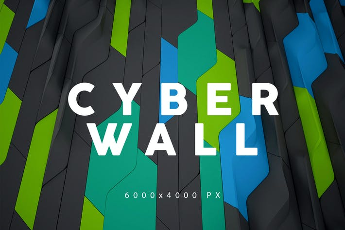 Thumbnail for Cyber Wall Backgrounds 2