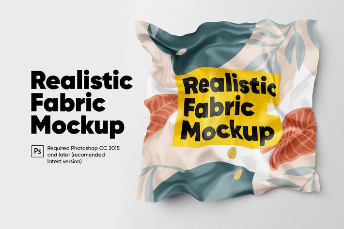 Thumbnail for Realistic Fabric Mockup