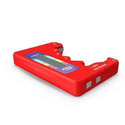 Battery Tester Red