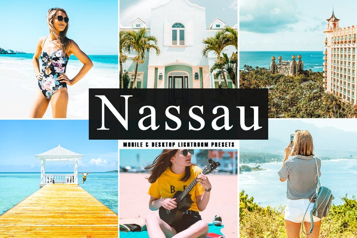 Thumbnail for Nassau Mobile & Desktop Lightroom Presets