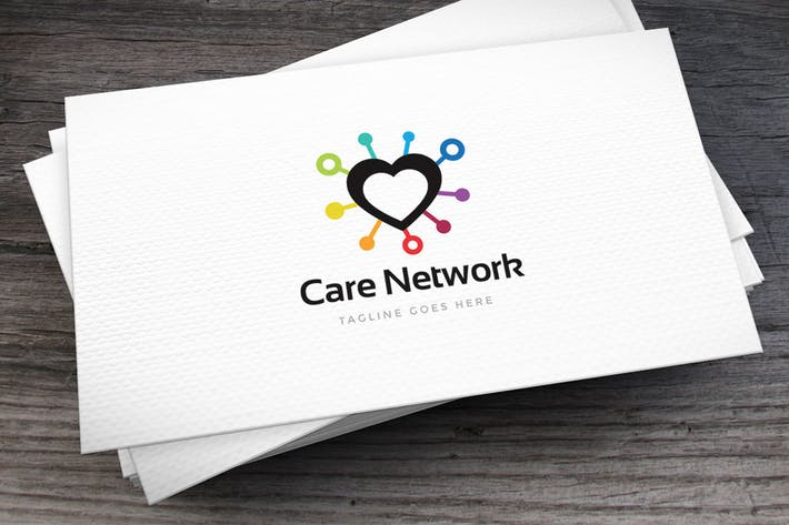 Cover Image For Care Network Logo Template