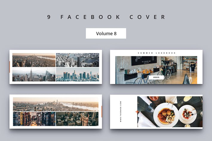 Thumbnail for Facebook Cover Vol. 8