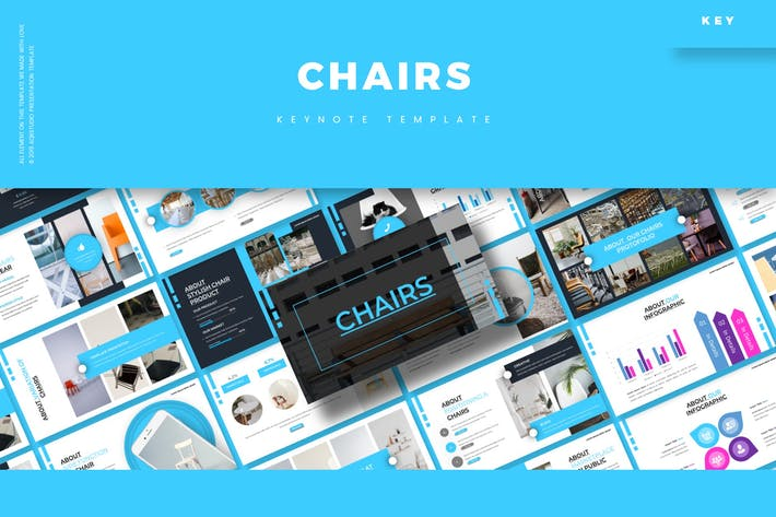 Cover Image For Chairs - Keynote Template