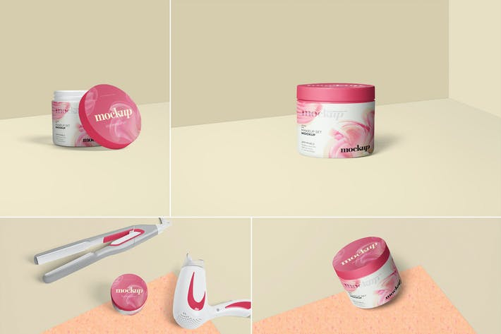 Thumbnail for Cosmetic Packaging Mockups