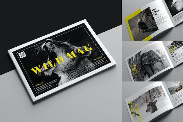 Thumbnail for Wildlife Magazine Template