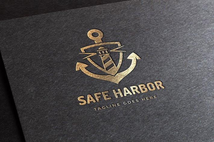 Cover Image For Safe Harbor Logo Template