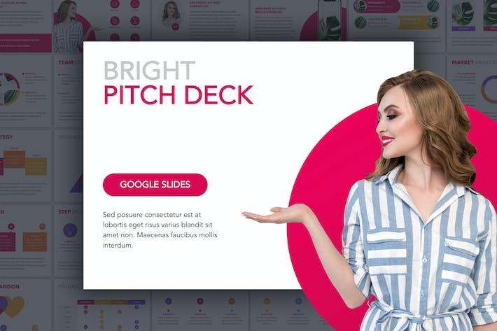 Thumbnail for Bright Pitch Deck Google Slides Vorlage