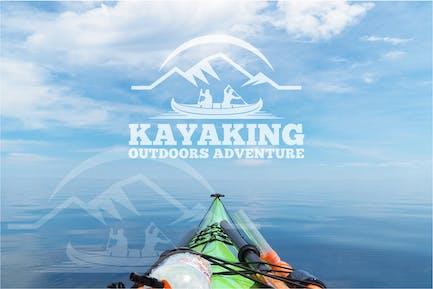 Kayaking logo
