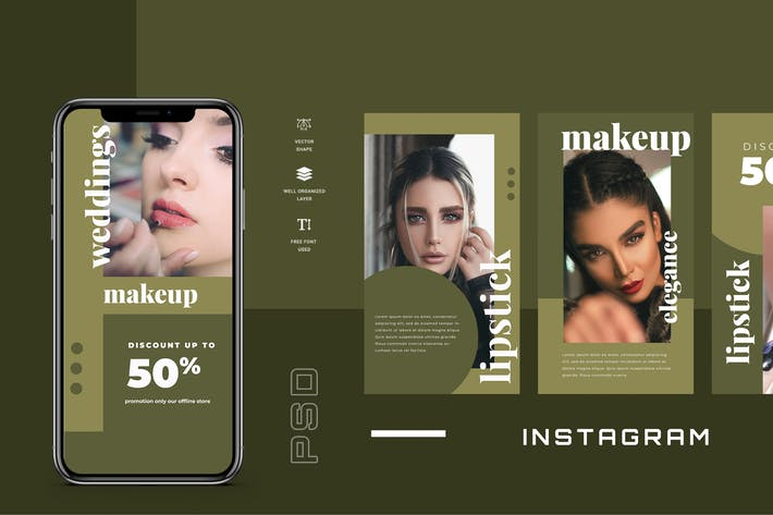 Thumbnail for Four - Instagram Stories - Social Media Kit