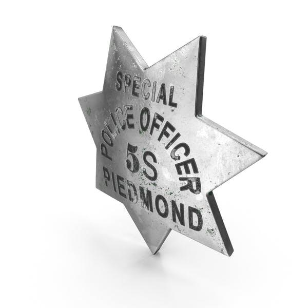 Thumbnail for Vintage Sheriff Badge