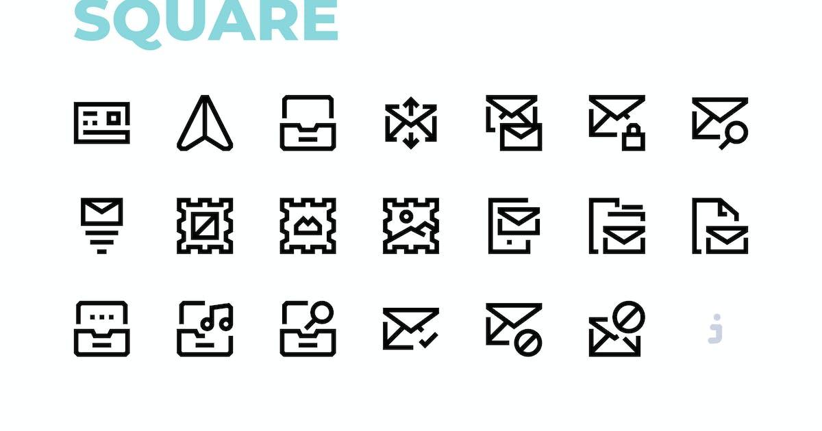 Download Mini square - 60 E-Mail Icons by Justicon