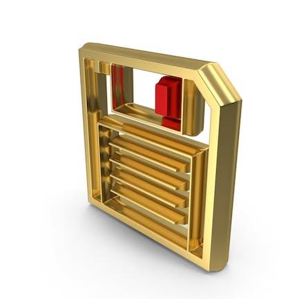 Floppy Disk Symbol Logo Icon