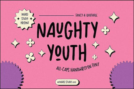 Naughty Youth | Fancy & Quotable