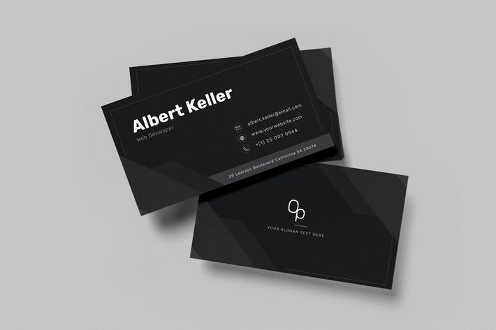 Thumbnail for Professional business card v54