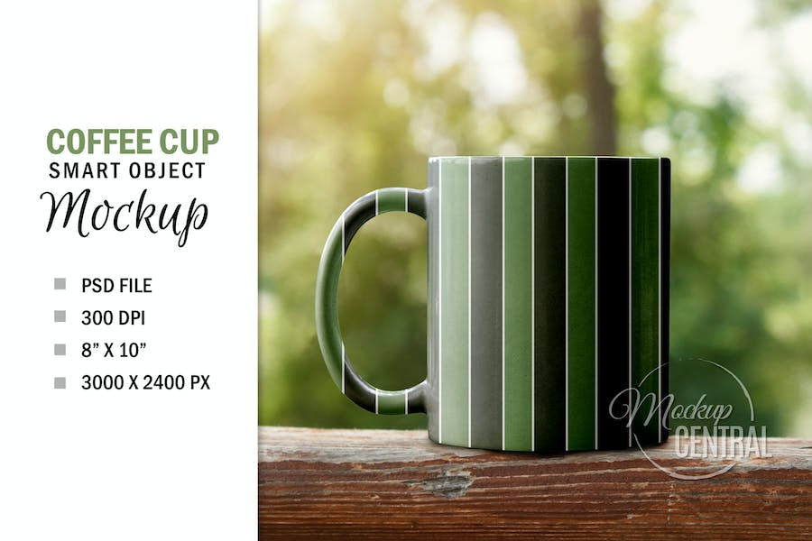 Smart Object Cup Sublimation Mockup