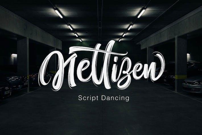 Thumbnail for Nettizen - Script moderno