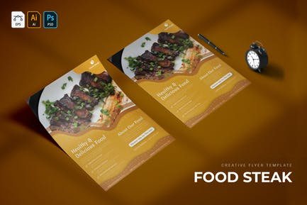 Essen Steak   Flyer