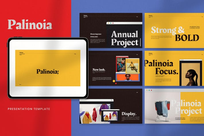 Thumbnail for Palinoia - Creative Business Google Slides