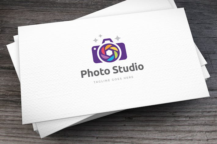 Thumbnail for Photo Studio Logo Template
