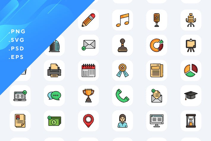 Thumbnail for 50 Job Resume Icons