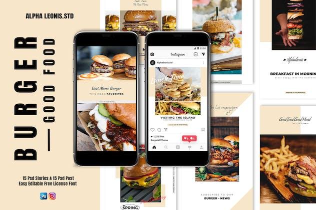 Food Branding Stories & Post