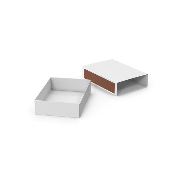 Пустая спичечная коробка