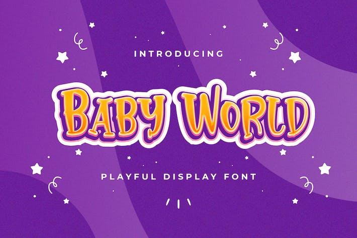 Thumbnail for Baby World - Fuente de visualización juguetona