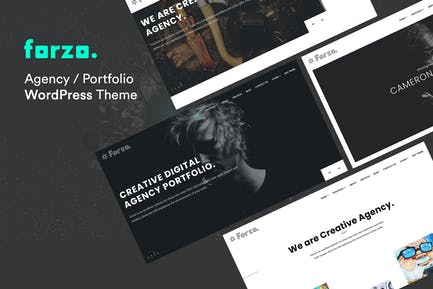 Forzo - Agency Portfolio WordPress Theme