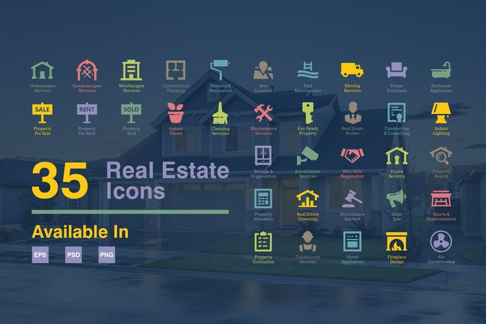 Thumbnail for Real Estate Icons