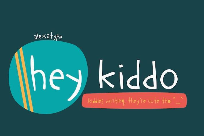 Thumbnail for Hey Kiddo - Children Font