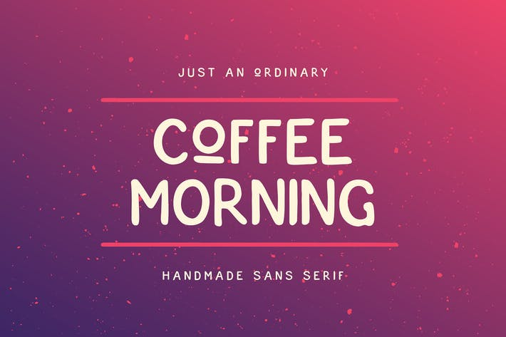 Cover Image For Coffee Morning Sans