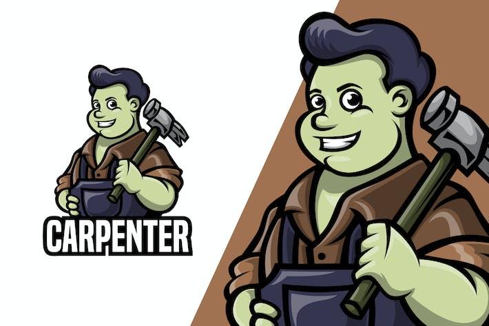 Thumbnail for Carpenter - Mascot Logo Template