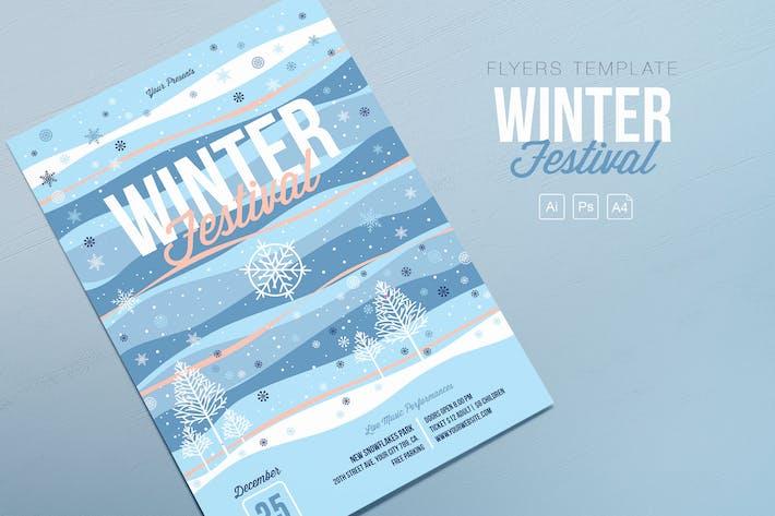 Winter Festival Flyers
