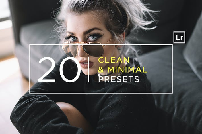 Thumbnail for 20 Pro Clean & Minimal Lightroom Presets