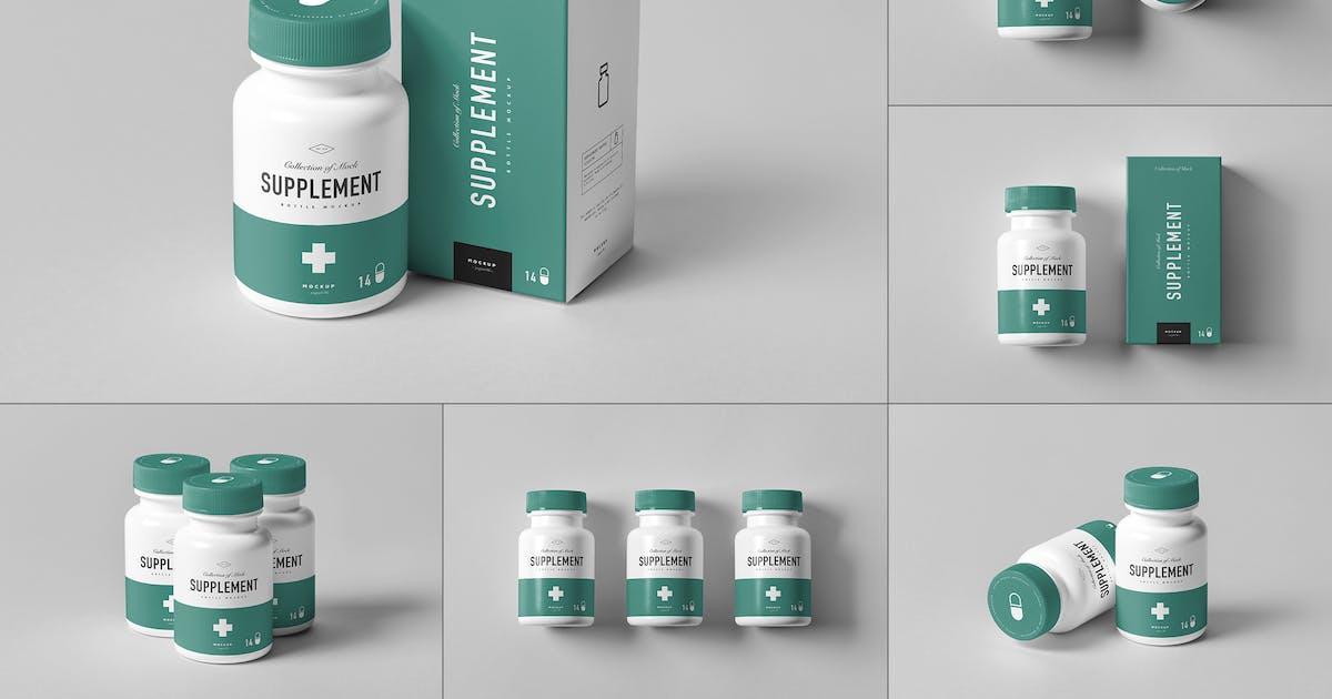 Download Supplement Bottle Mock-Up by yogurt86