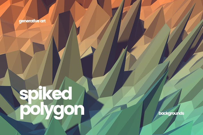 Thumbnail for Spiked Polygon Backgrounds