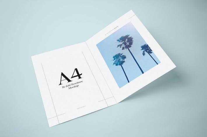 Thumbnail for Maquette de brochure bifold