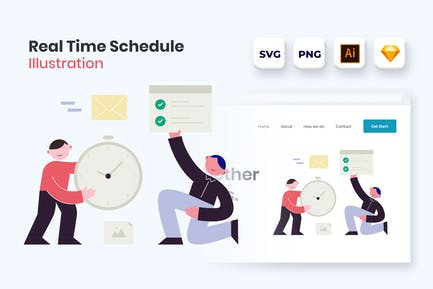 Finish and sed your work on time